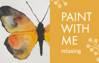 Paint With Me #1 -Butterflies