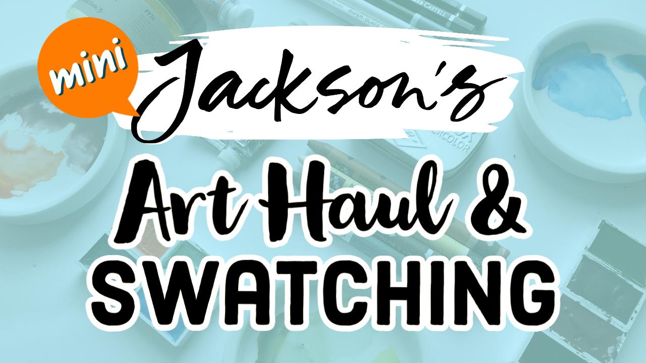 YouTube THUMB 04 22 21 Art Supply Haul Jacksons Mini